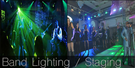 live music lighting, concert lighting, concert, band lighting